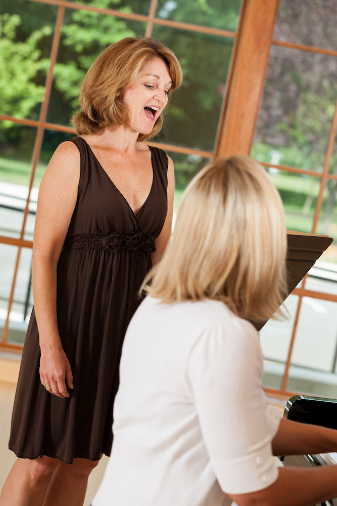 Practising effectively for singing lessons
